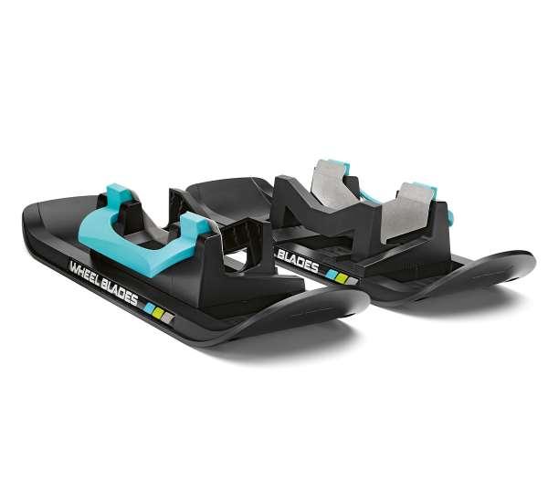 Rollator Wheelblades: Mini Ski für besseren Halt bei Schnee und Glätte